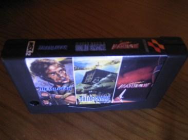 MegaFlash ROM con tres juegos de Konami