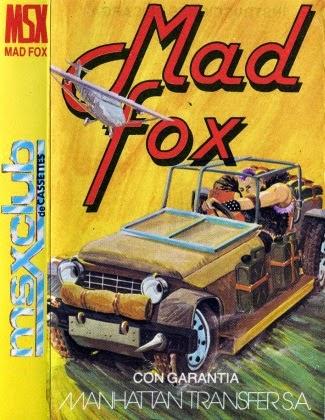 Mad Fox (Manhattan Transfer, 1986) (Carátula)