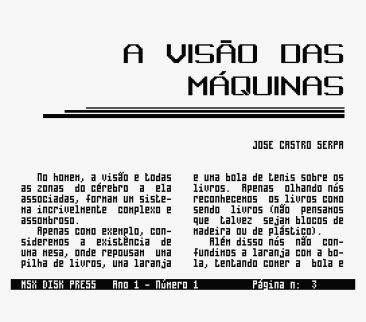 MSX Disk Press #1 (Hitek Softworks, 1991) (8)