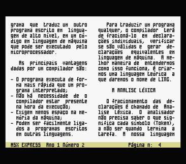 MSX Express #2 (Discovery Informatica, 1991) (4)