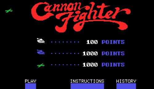 Remake de Cannon Fighter