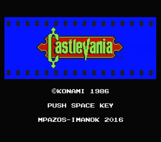 Castlevania MSX2