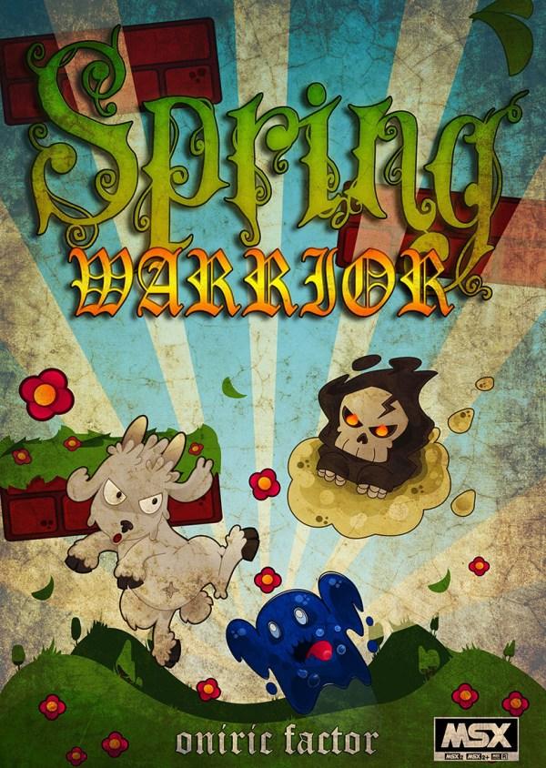 Ilustración de Spring Warrior
