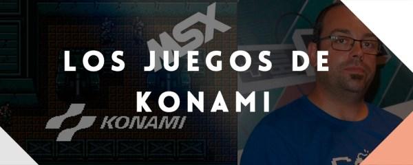 Charla Los juegos de Konami en el universo MSX