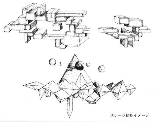 Muestra de los primeros diseños conceptuales