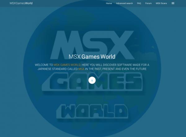 Portada de MSX Games World