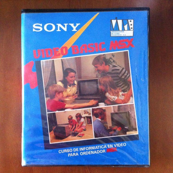 Video BASIC MSX (Sony, 1985) 001