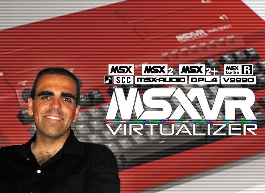 Alberto Del Hoyo y MSXVR