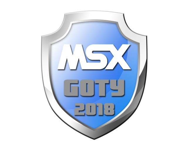 Logotipo de MSX GotY 2018