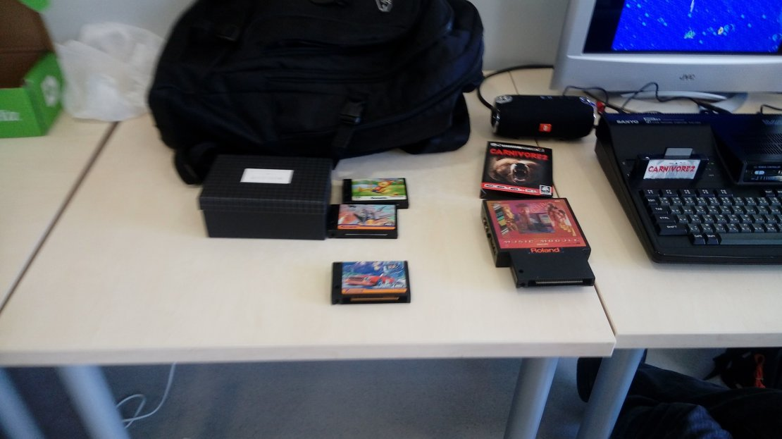Cartuchos de Konami