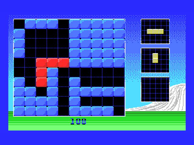 BlockPuzzle - Pantalla de juego