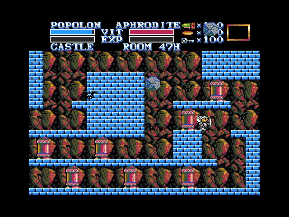 le jeu le plus populaire du msx 1  du msx bientot sur msx2 en version enhanced  The-Maze-of-Galious-MSX2-003
