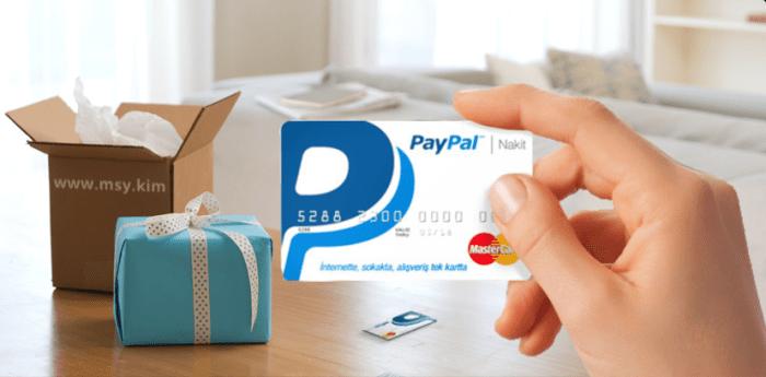 Paypal Nakit Kart Hizmetini Bitiriyor