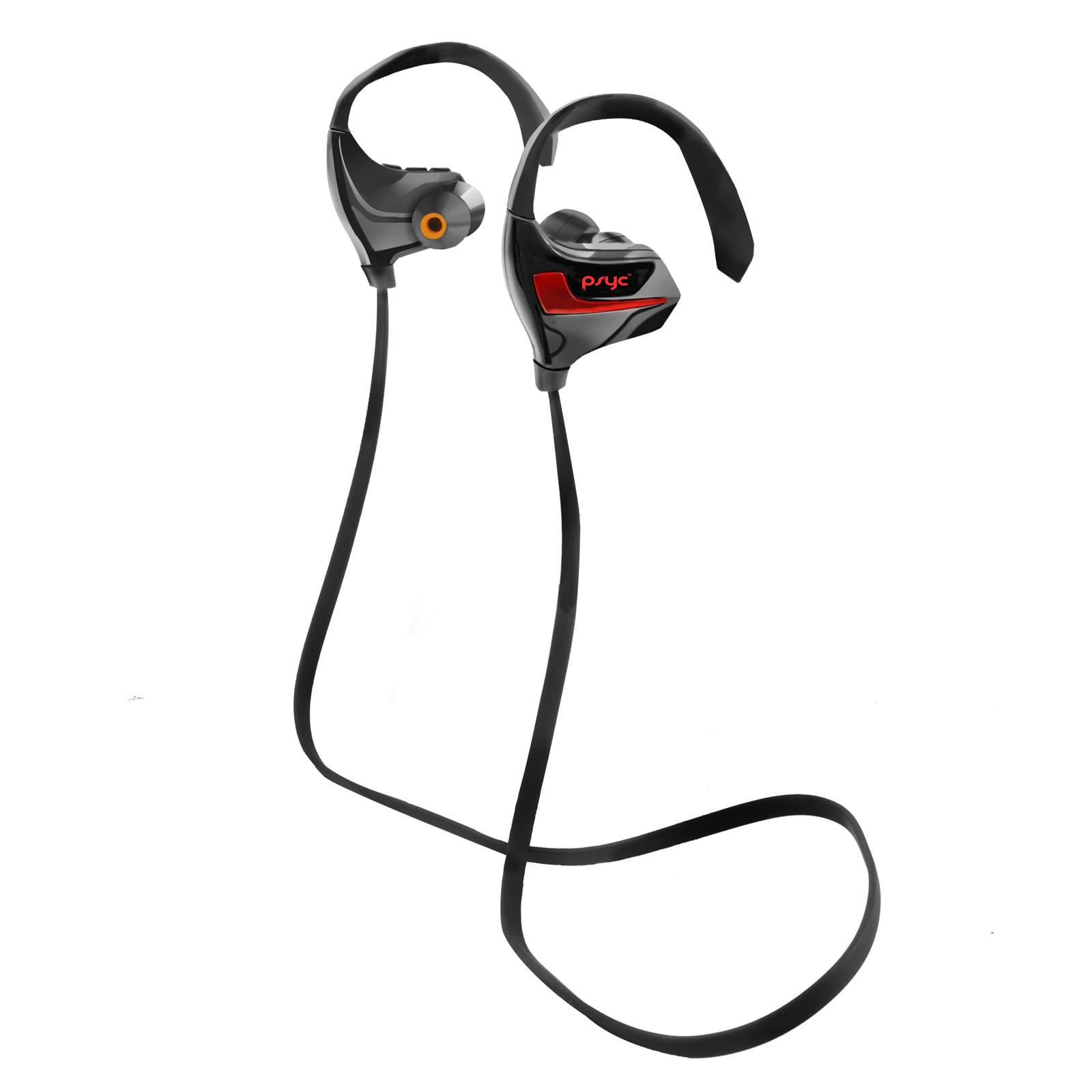 Psyc Esprit Black Bluetooth Sport Earphones Mt