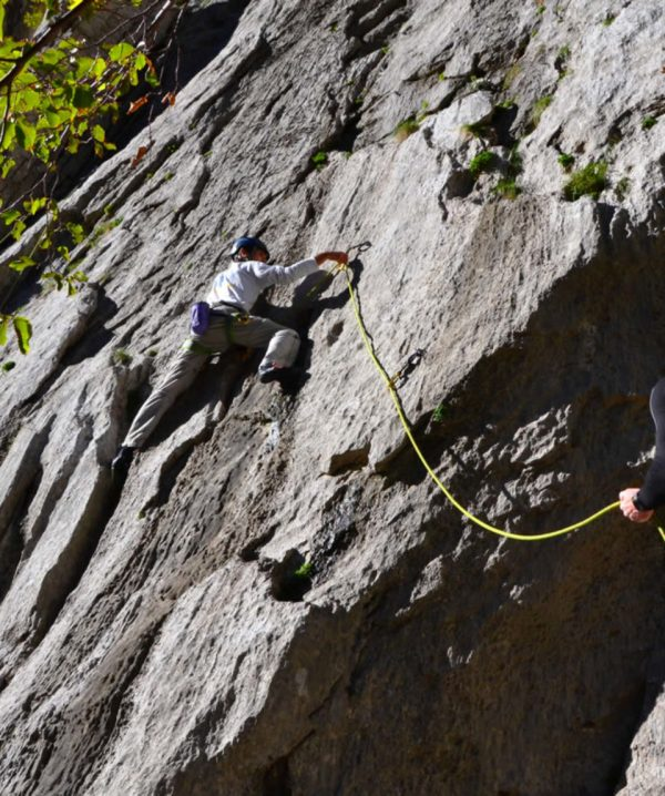 Lead Climb Mountain Traveller Croatia
