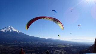 富士山で鳥になる!パラグライダー体験