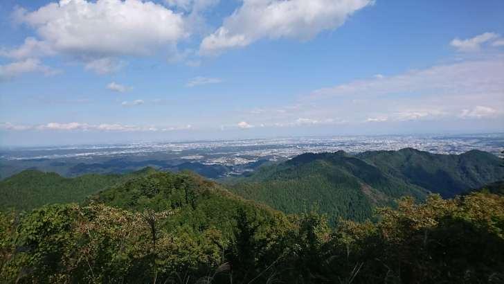 山頂からの景色(景信山)②