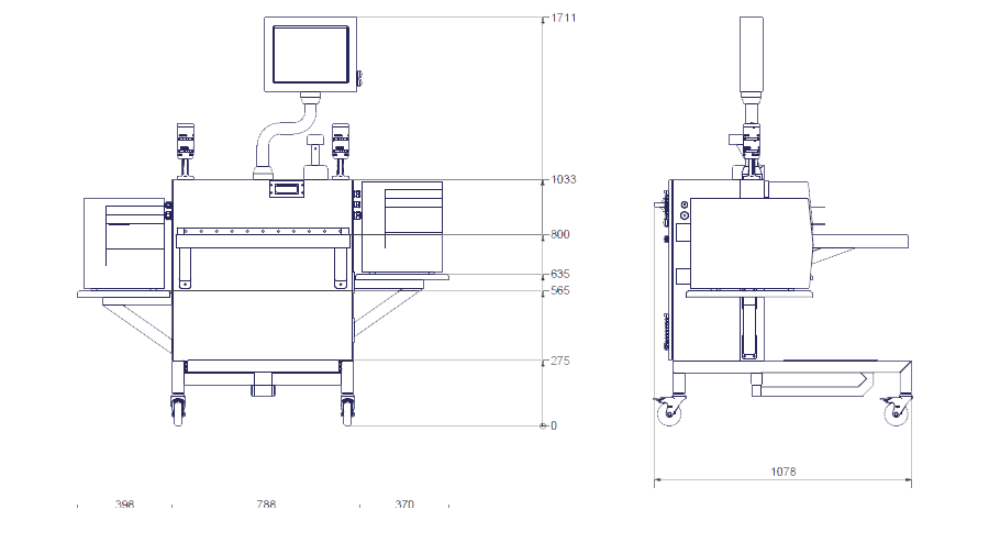 T2660 designed for manual aggregation of boxes, cartons