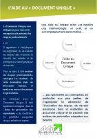 Objectif DU : l'aide au Document Unique