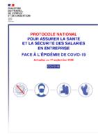 Protocole National Santé Sécurtité
