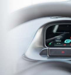 go mobile has decided to rely on our smart dashboard for the new electric city car [ 2390 x 1092 Pixel ]