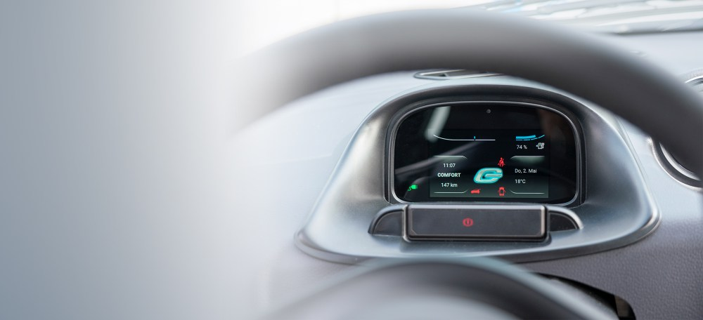 medium resolution of go mobile has decided to rely on our smart dashboard for the new electric city car