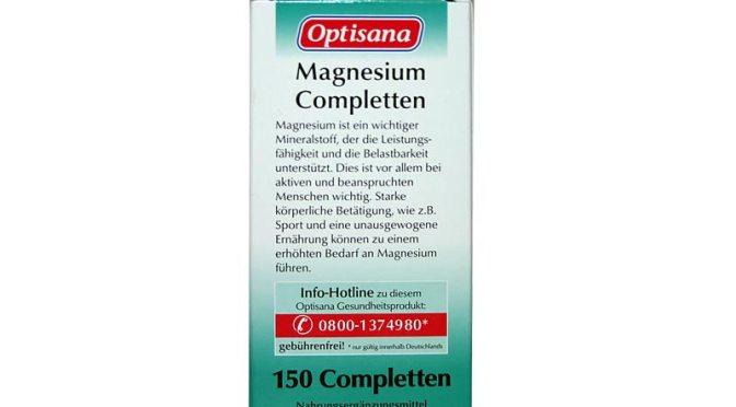 Optisana Magnesium Completten von Lidl – Power für die Muskeln