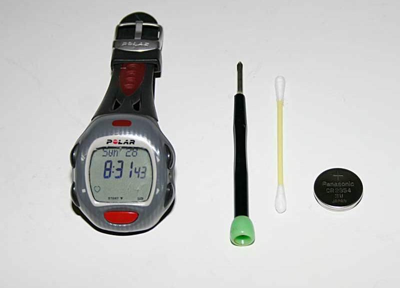 Batteriewechsel Polar