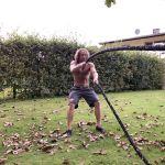Battle-Rope-Training - Alternate Waves