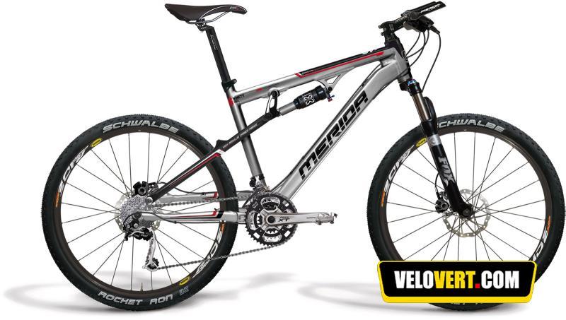 Mountain biking purchasing guide : Merida Ninety-Six HFS