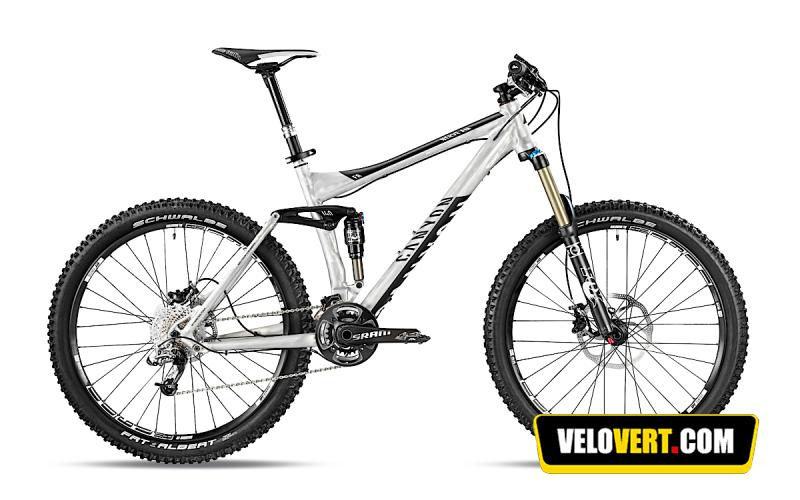Mountain biking purchasing guide : Canyon Nerve AM 8.0 X