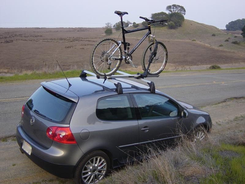 vw gti bike roof rack
