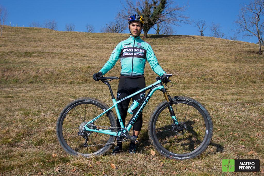 Bike Check  la Bianchi Methanol di Marco Aurelio Fontana