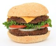 Hamburgers are high in Saturated Fat