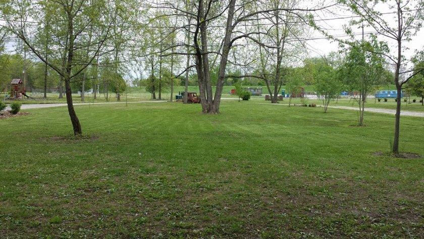 R V Park in the Spring