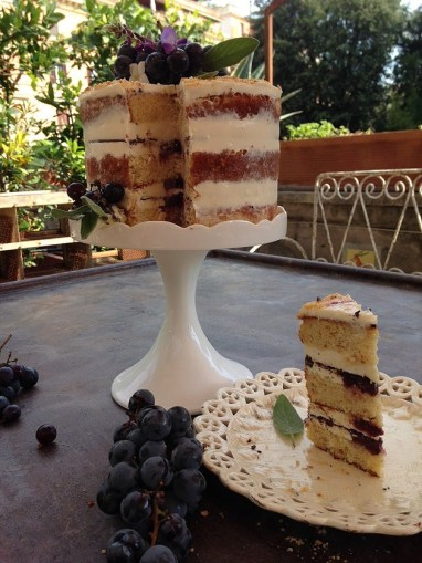 Naked cake autunnale di Flaminia