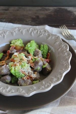 174.Gnocchi di patate Vitelotte di Marianna