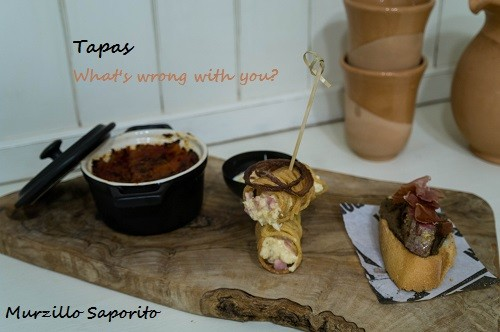 "89. Tapas ""what's wrong with you?"" di Valeria"