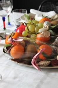 """23. La tavola di Natale di Annalena: """"Natale di frutta"""""""