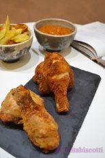 *30.Pollo fritto con salsa al mango di Tritabiscotti