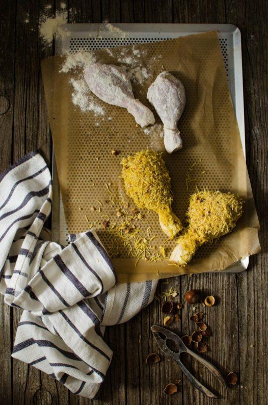 *77.Pollo fritto con senape dolce di Elisabetta