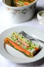 108.Terrina di pesce e verdure in gelatina di Mari