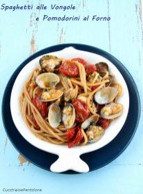 5. Spaghetti alle vongole e pomodorini al forno di Dauly