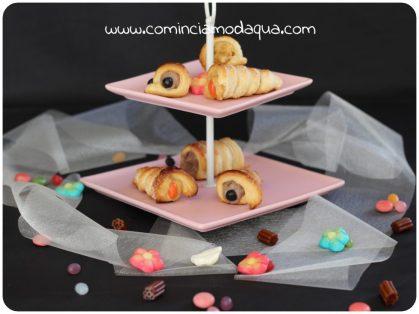 6. Elena A, Cannoncini con crema al sambuco e alla rosa canina