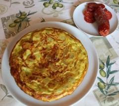 40. tortilla con salamino di Corrado