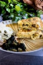 51. tortilla de patatas con verdure cotte e finocchi di Lara