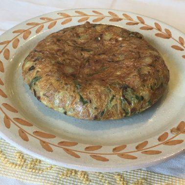 91. tortilla de patatas con asparagi selvatici di Fabio