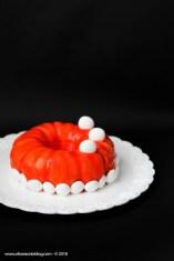 12. bavarese alla vaniglia con gelée di fragole, profumato al basilico e gelée di limone e pistacchio di Fabiola
