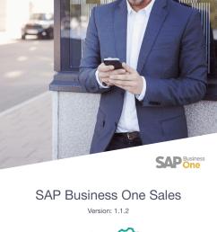 sap business one sales mobile app [ 1080 x 1920 Pixel ]