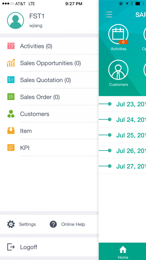 small resolution of sap business one sales mobile app